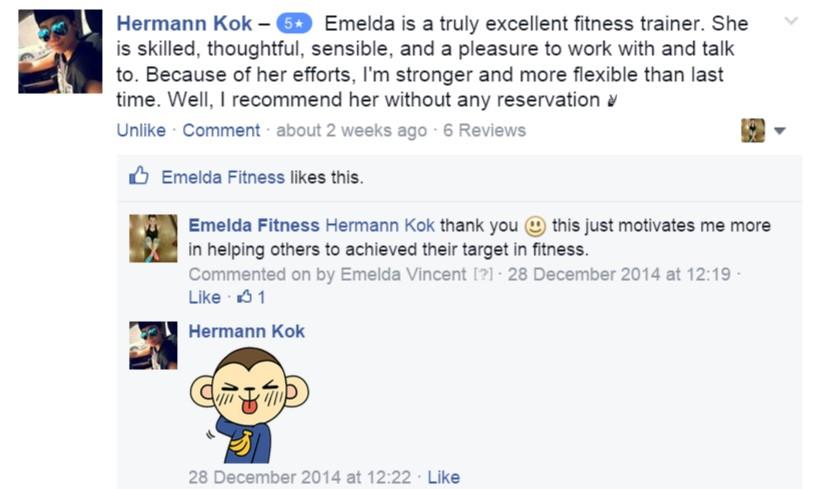 Emelda Fitness Testmonial 4