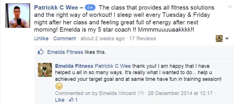 Emelda Fitness Testmonial 6