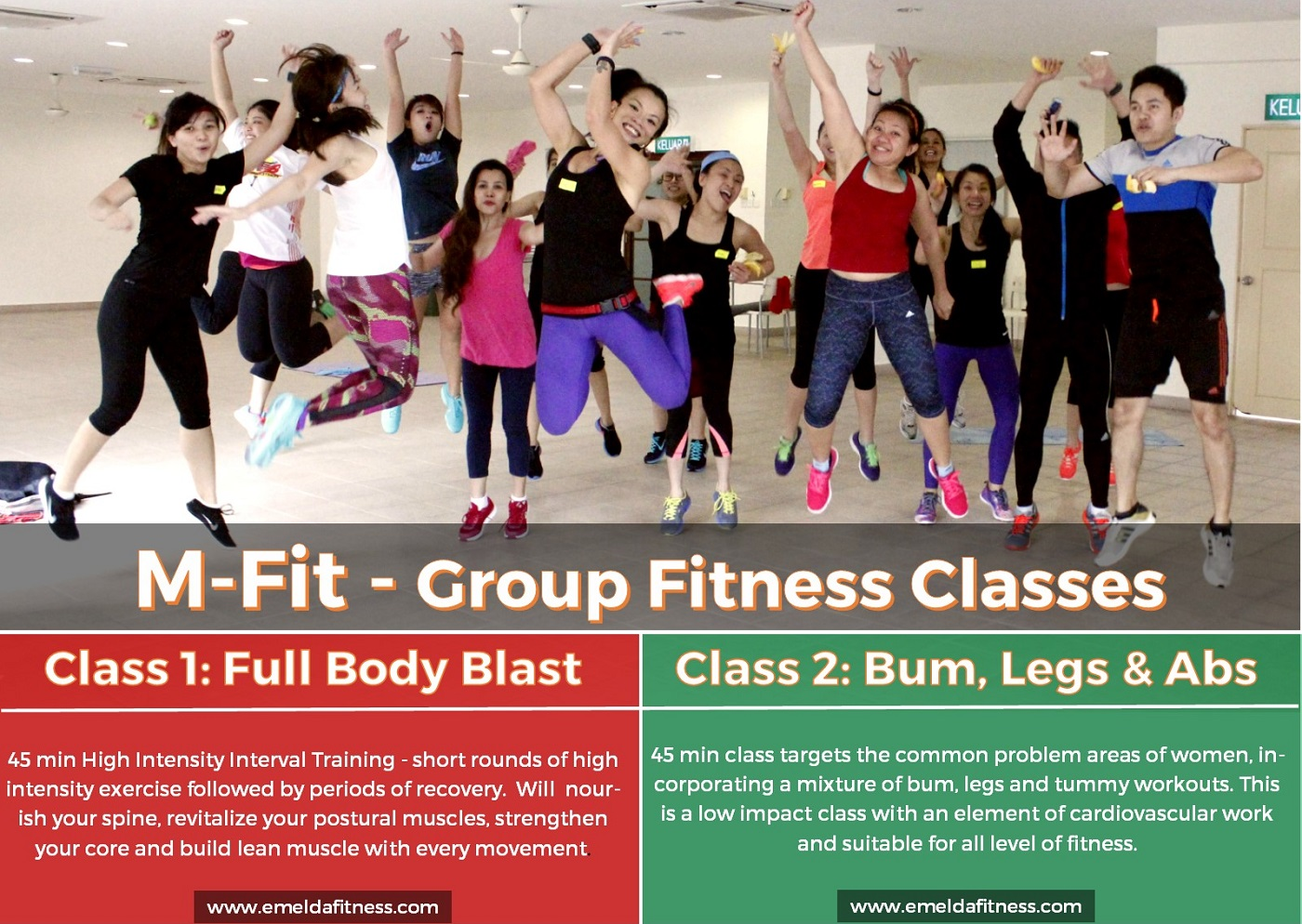 M-Fit Group Fitness Class