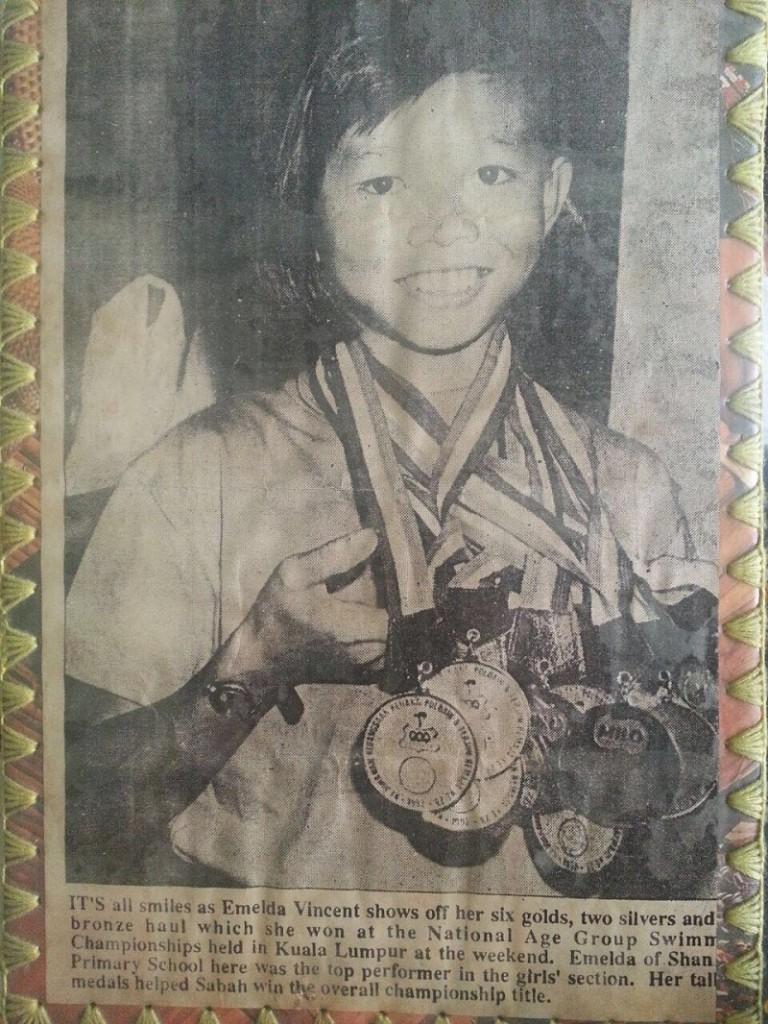 Emelda as young swim champion 800x1066